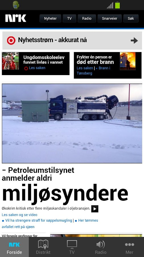 nrk.no - screenshot