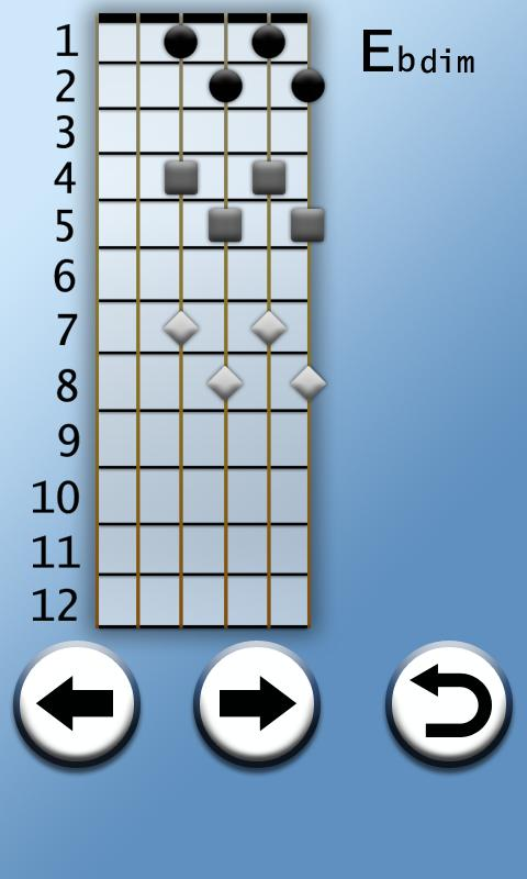 Learn Advanced Guitar Chords- screenshot