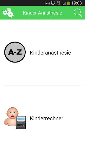 Kinder Anästhesie XS