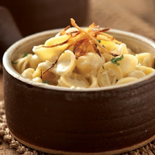 The Coterie Room's Sweet Onion Mac and Cheese