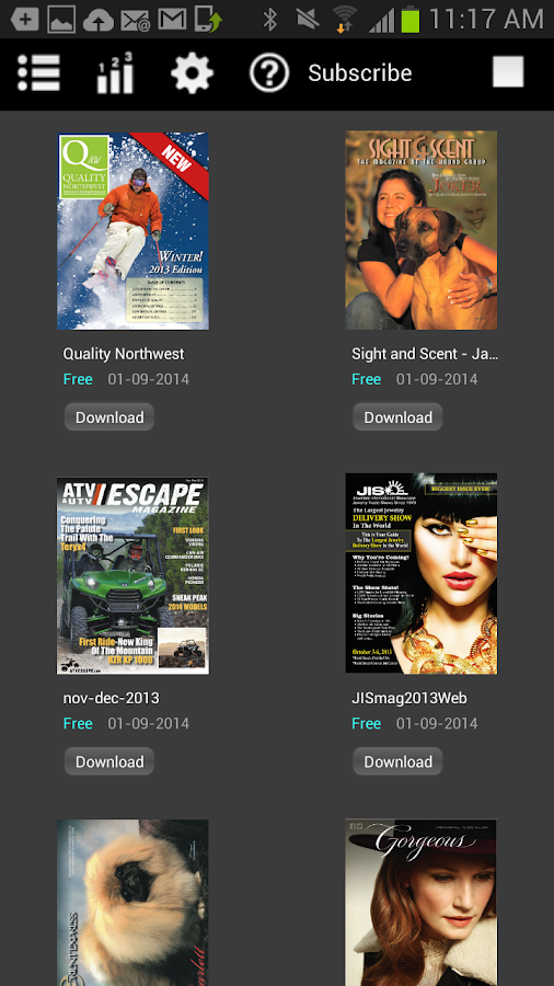 iPubMag- screenshot