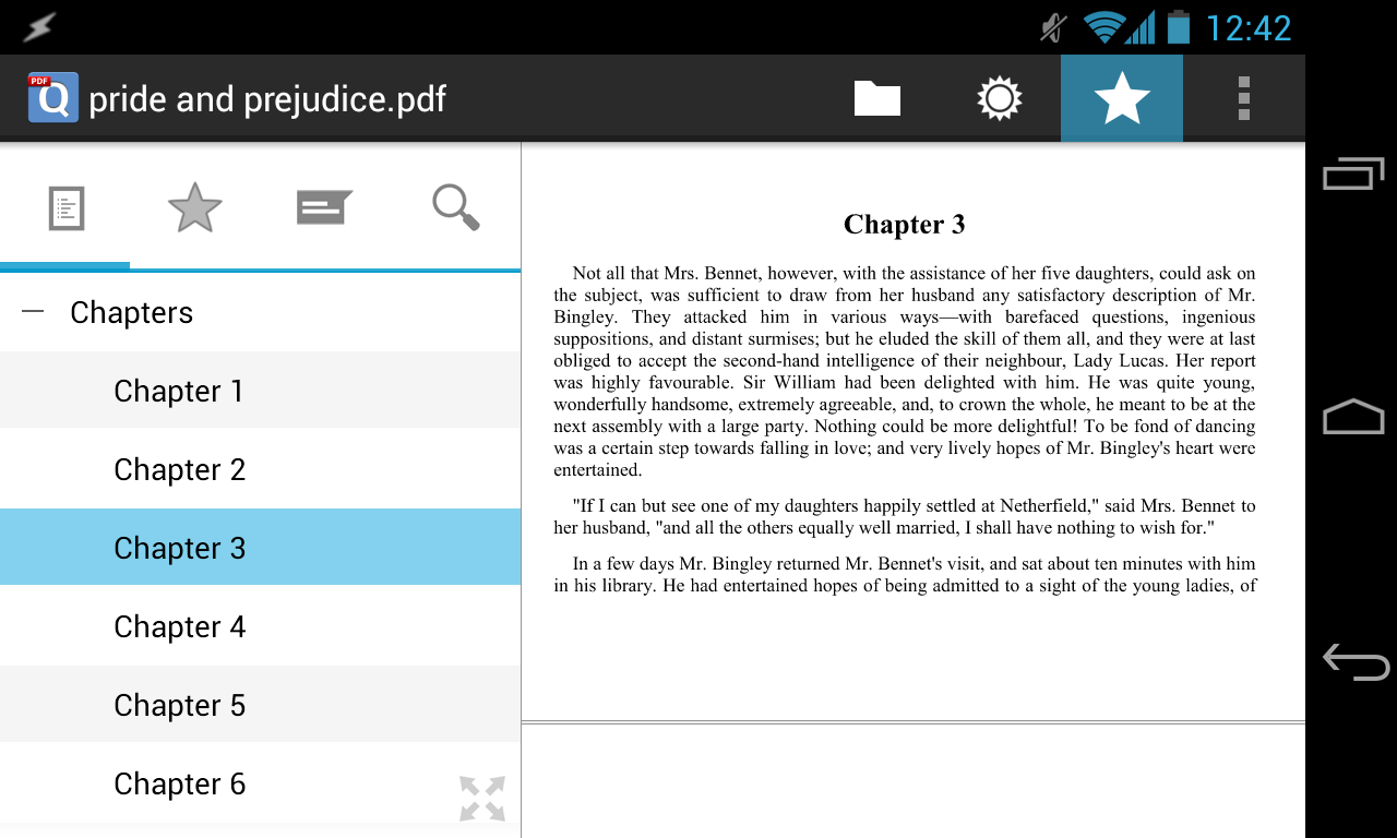 Phone Pdf File Reader For Android Phone qpdf viewer free pdf reader android apps on google play screenshot