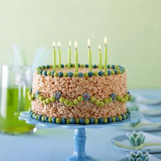 No-Bake Birthday Cake.