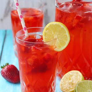 Strawberry Lemonade Recipe (with a Lime Twist) Recipe