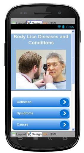 Body Lice Disease Symptoms