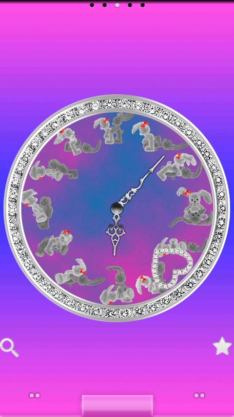 Bunny Kama Sutra Clock - screenshot
