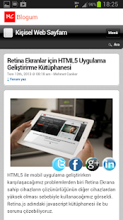 Mehmet Canker Blog - screenshot thumbnail