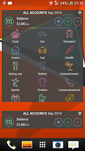 Monefy - Money Manager- screenshot thumbnail