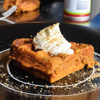 Waffled Pumpkin Custard