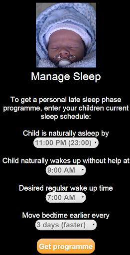 Baby Manage Sleep