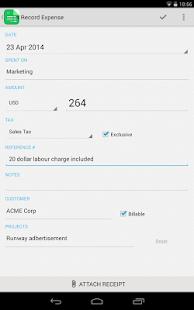 Invoice & Time Tracking - Zoho Screenshot 15