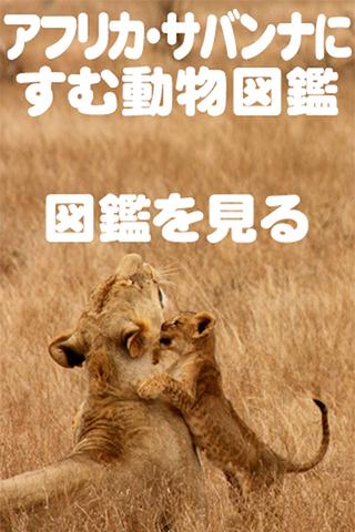 アフリカ・サバンナにすむ動物図鑑