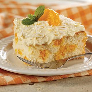 Mandarin Orange Cake.