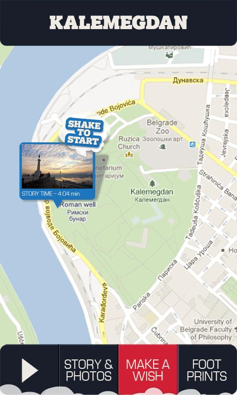 Belgrade Genie - travel guide- screenshot