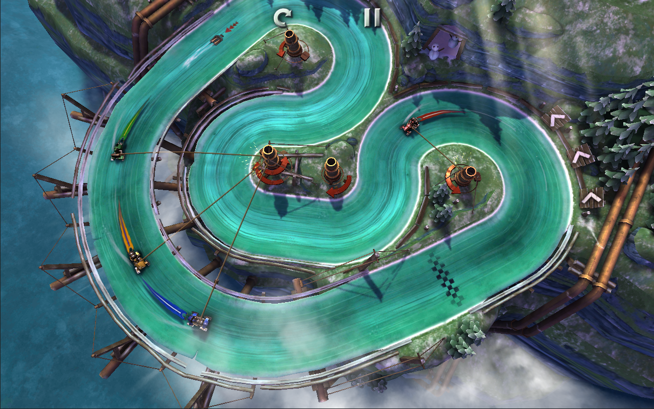 Slingshot Racing- screenshot