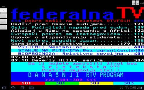 FTV Teletekst- screenshot thumbnail