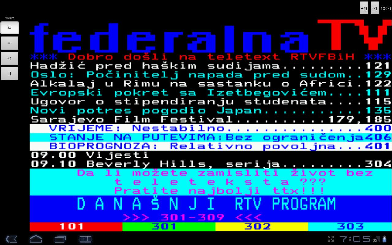 FTV Teletekst- screenshot