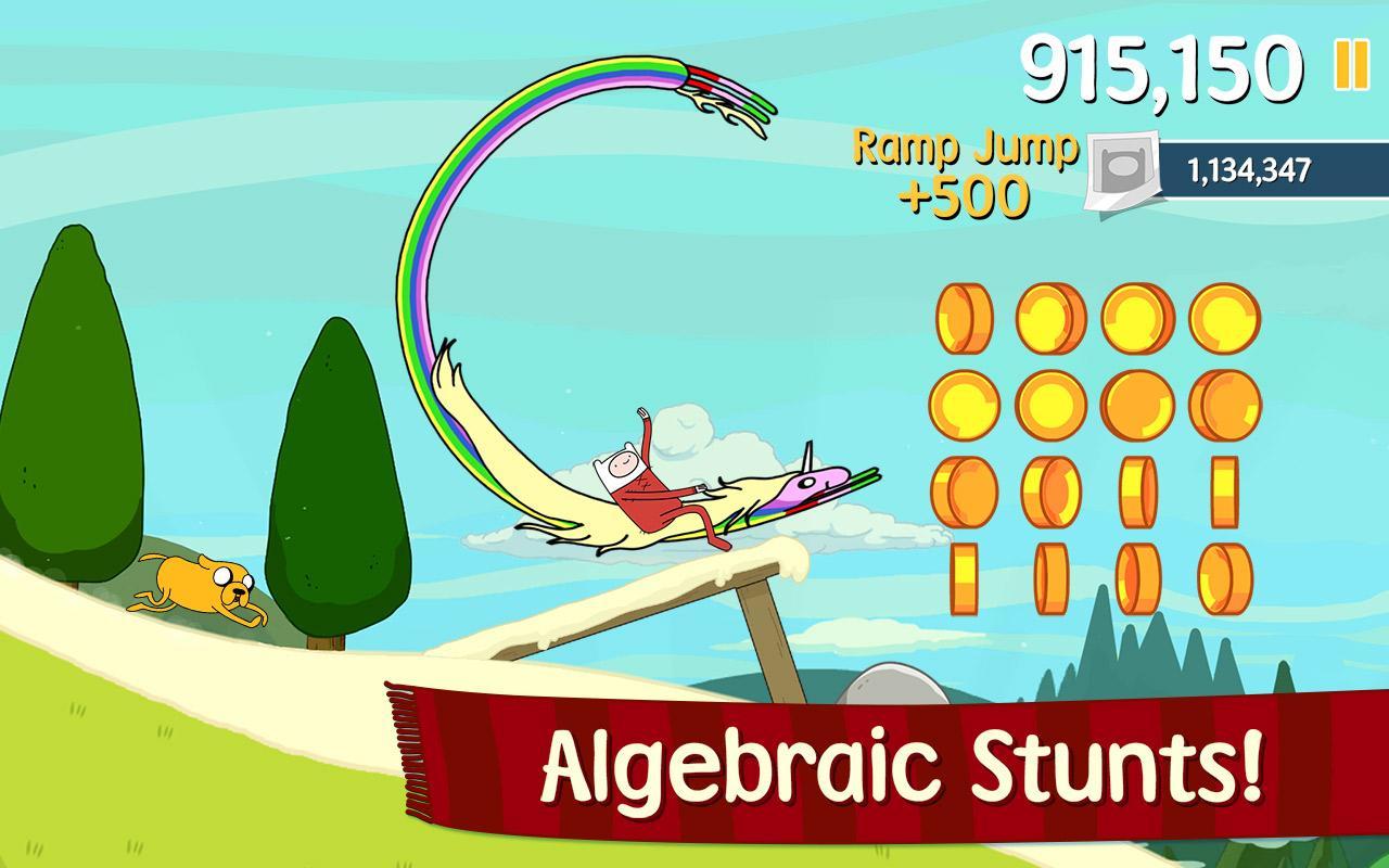 Ski Safari: Adventure Time - screenshot