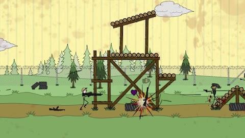 Doodle Army Boot Camp Screenshot 1