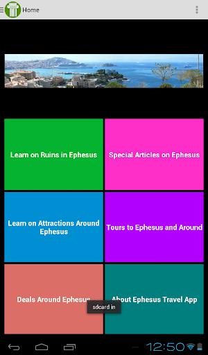 Ephesus Travel App Companion