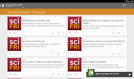 BeyondPod Podcast Manager Screenshot 3