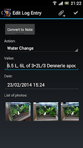 Nativnux Aquarium Logger screenshot 3
