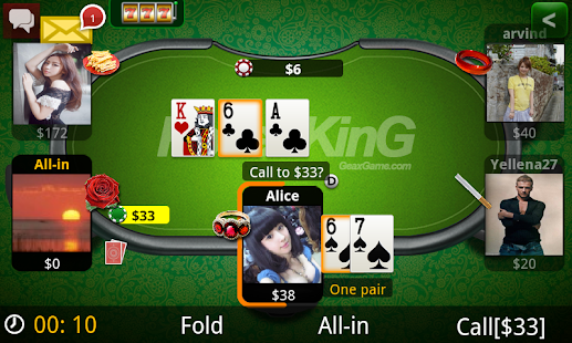 Poker KinG Green-Texas Holdem - screenshot thumbnail