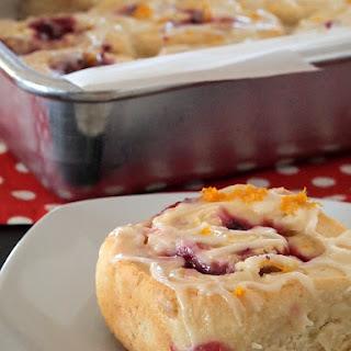 Gluten Free Raspberry Sweet Rolls