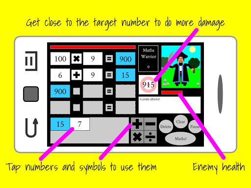 Maths Warrior 2.1 screenshots 7