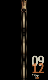 Zipper Screen Locker screenshot