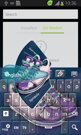 【免費個人化App】運動鞋鍵盤-APP點子