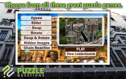 Barcelona Puzzle Games