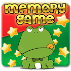 Frog And Beaver Kids Memory M icon