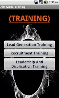 Screenshot of Aim Global Business Training