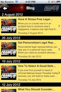 Chuck Franklin Law - screenshot thumbnail