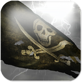 Pirate Flag Live Wallpaper