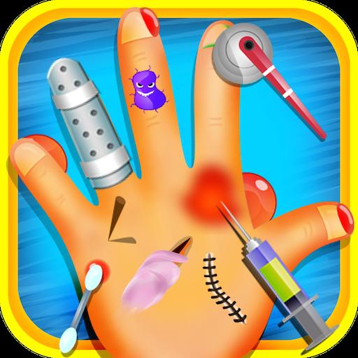 手医生 - 儿童趣味游戏 休閒 App LOGO-硬是要APP