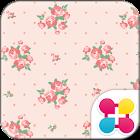 花主題 乳白薔薇 icon