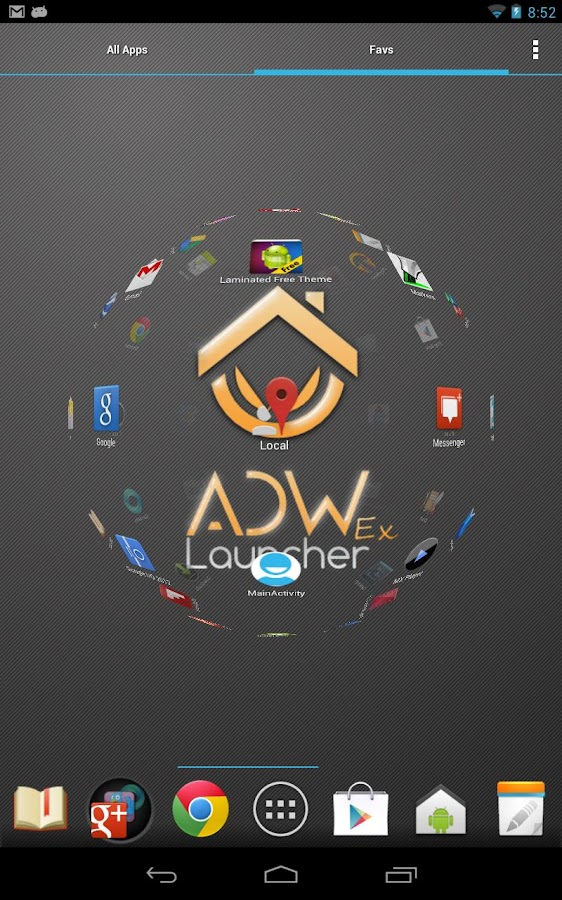 ADWLauncher 1 EX- screenshot