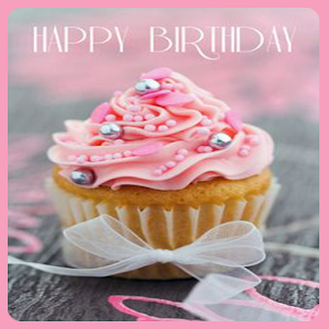 Freeapkdl Cupcake Birthday Wallpapers for ZTE smartphones