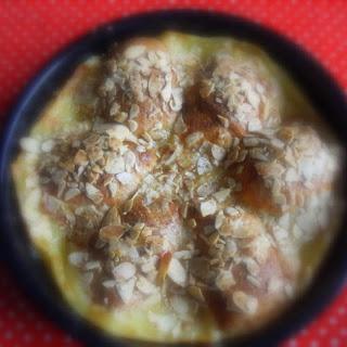 Almond and Custard Apple Dumplings
