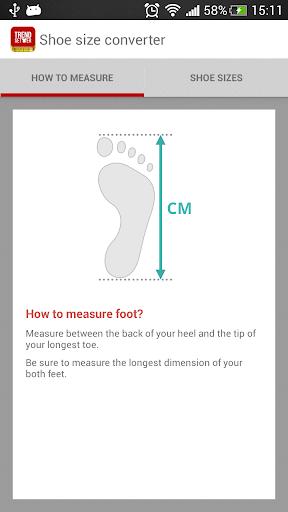 Shoe Size Converter