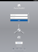 Screenshot of AwardWallet