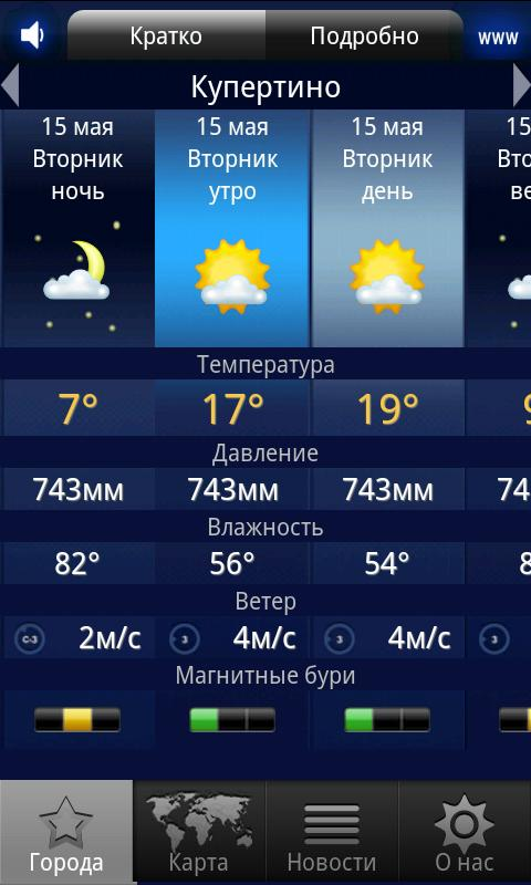 МЕТЕОНОВА– скриншот
