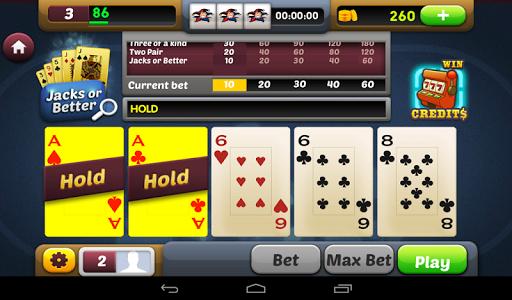 【免費紙牌App】Video Poker & Slots Free-APP點子