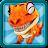 Dino Run: Jurassic Escape logo
