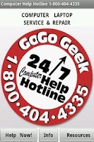 Screenshot of Computer Help Hotline