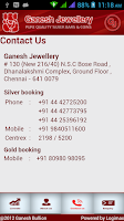 Screenshot of Ganesh Bullion