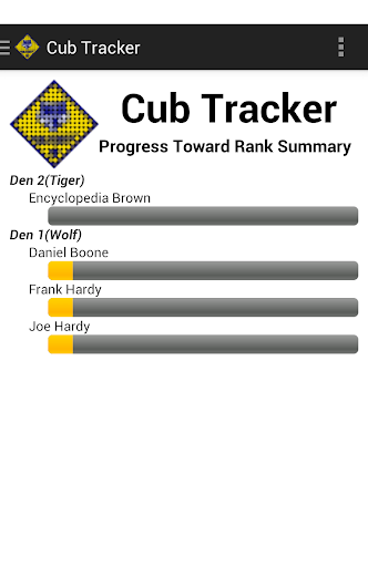 Cub Tracker