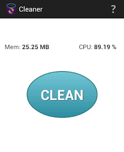 Cleaner - clear RAM and cache- screenshot thumbnail